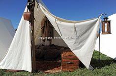 civil war reenactments virginia | Civil War Reenactment Confederate Camp Tent