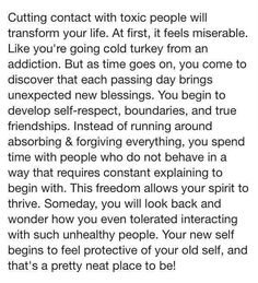 Recovering from toxic relationships