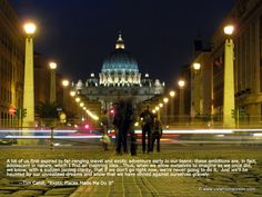 St. Peter's Basilica, Quote By Tim Cahill