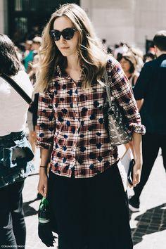 New_York_Fashion_Week-Spring_Summer-2016-Street-Style-Jessica_Minkoff-Diesel_Black_And_Gold-11