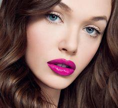 Pink lips - Make-up inspiration