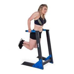 Fitness Equipment: DIP Station With Rings Home Exercise Training Uppe...