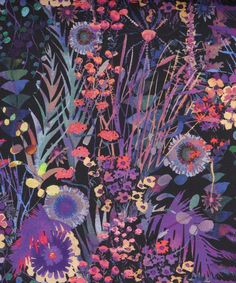 Tresco D Tana Lawn, Liberty Art Fabrics. Shop more from the Liberty Art Fabrics… Motifs Textiles, Textile Patterns, Textile Prints, Print Patterns, Art Prints, Liberty Art Fabrics, Liberty Print, Motif Floral, Floral Prints
