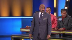 Family Feud Players Disturb Steve Harvey So Much He Accuses Them of Murder #Entertainment #News
