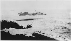 September 8th 1923: Seven US Navy destroyers run aground at Honda Point, CA. 23 US Navy sailors are killed in the worst peacetime disaster in the US Navy's history. From front to back: USS Delphy (broken in two), USS Young (capsized), USS Woodbury (hit rock), and USS Fuller [3000 × 1771]