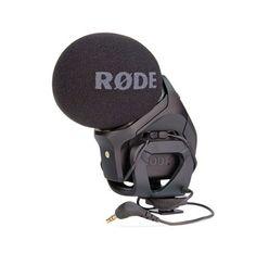 Stereo Rode VideoMic Pro proporciona una opción de stereo de alta calidad para los videógrafos, y es ideal para la grabación de música y de la atmósfera ambiental, esencial para la construcción de escenas de sonido realistas.  199,01 €