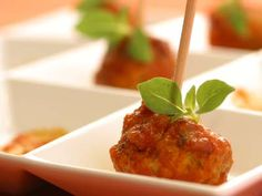 I think all food is better on sticks! Meatballs on sticks would be a quick and easy party food.