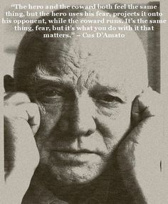 The great Cus D'Amato. Trainer, Coach