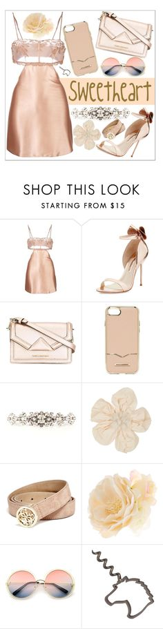 """""""Happy 1K follower. Hug and love for my followers 🤗. Thank you so much dear, for your amazing support even though I think I dont deserve it."""" by biinabnab ❤ liked on Polyvore featuring La Perla, Sophia Webster, Karl Lagerfeld, Rebecca Minkoff, Dolce&Gabbana, Lanvin, GUESS, Accessorize and ZeroUV"""