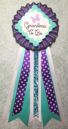 Paris Baby Shower..Baby Shower Corsage..Baby by GlitterGorgeous