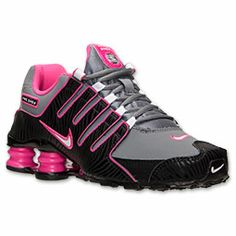 Nike Shox Nz Womens Grey Pink