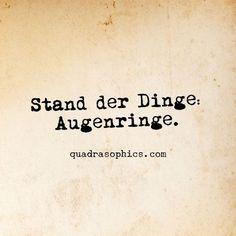 Dusseldorf Humor Berlin Quadrasophics Witzigespruche Geschenkideen Geschenkartikel Dekoration Bilddestages Augenringe