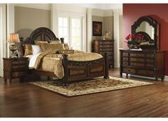 Four Poster Bedroom Sets Ledelle Poster Bedroom Set