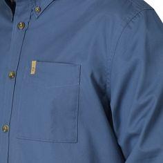 Övik Solid Twill Shirt LS