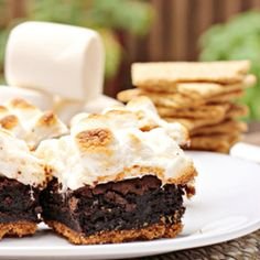 S'mores brownies - I've made these and they are SO GOOD. Just use brownie mix if you're feeling lazy.