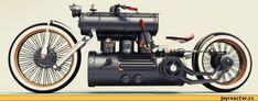 Концепт стимпанковского мотоцикла Train Wreck / продолжение в каментах :: Steampunk (стимпанк, паропанк) :: мотоцикл :: мото :: продолжение в комментах / смешные картинки и другие приколы: комиксы, гиф анимация, видео, лучший интеллектуальный юмор.