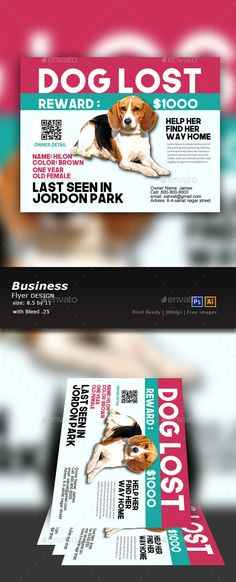 Lost Dog Flyer Template Beautiful Modern Photography Flyer Template - Lost Dog Flyer Examples