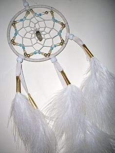 7 Wishes Dreamcatcher by Owlie!, via Flickr