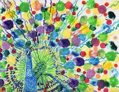 Peaceful Peacock - Connie Valasco