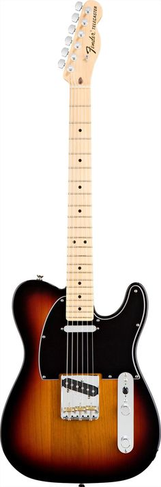 Fender American Special Tele in 3 Colour Sunburst