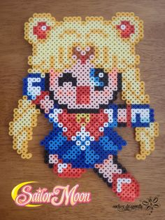 Sailor Moon perler beads by RockerDragonfly on deviantart