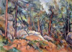 In the Forest, Paul Cezanne Size: cm