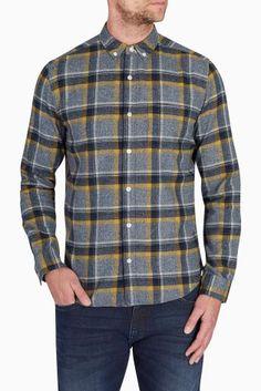 Grey Grindle Check Shirt