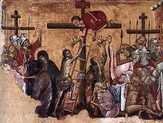 Guido of Siena - Christ Crucified, 1270s, in the Museum Catharijneconvent