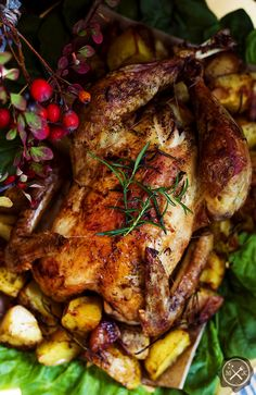 Pieczony kurczak z ziemniakami / Roasted Chc