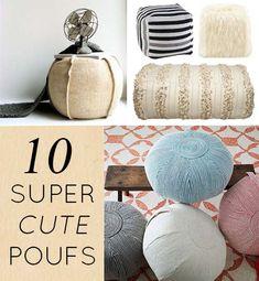 10 Cute Poufs