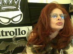 Rossana Diana - the RedHead with heartglasses