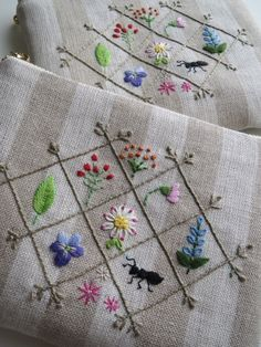 Cute little embroidery ideas