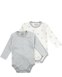Fixoni: Diese beiden Strampler für Boys gibt es im Set und sind besonders bequem durch die reine Baumwolle. http://www.mawaju.de/fixoni-baby-boys-bodys-im-set-axel-illusion-blue-32596-3001.html