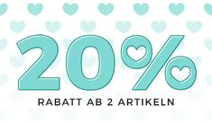 20% Rabatt ab 2 Artikeln - Gutscheincode: LOVE2