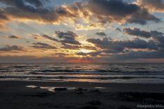 Sunrise at the Black Sea, Romania. Black Sea, Sunrise, Waves, Celestial, Photography, Outdoor, Beautiful, Romania, Fotografie