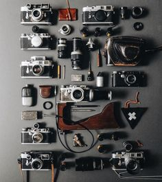 leicacraft: A Leica Analog Orgy from @1924us #leicacraft...
