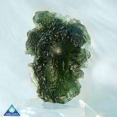 Unusual Investor Grade Moldavite Stone 11g IM211 by ArkadianCollection on Etsy