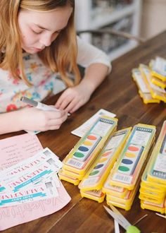 Cute and Easy Non-Food Kid Valentines that are great for school and classrooms with food allergies. Valentine's Day is this weekend. I happen to really love Valentine's Day. My mom always made it really special when we were kids and I like to do the same for my kids. They love bringing treats to their [...]