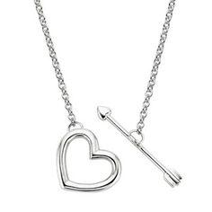 Silver Corazón Pendant