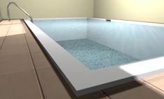 area  relax in una parte della casa; piscina coperta.- relax area in the house- underground covered pool