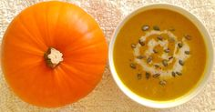 This recipe for warming pumpkin and coconut soup is low fodmap, Coeliac friendly. The pumpkin and carrot are roasted first then flavoured with turmeric, cinnamon and ginger!