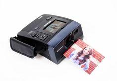 Camara Polaroid instantanea.