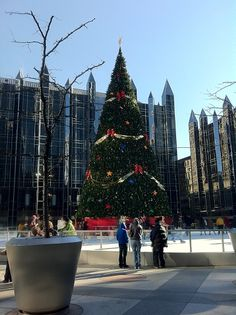 PPG Christmas Tree in Pittsburgh