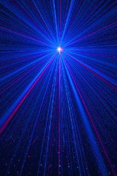 Brand new blue laser starry night effect.