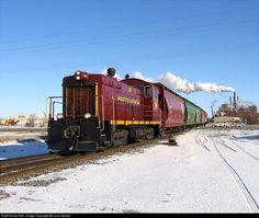 RailPictures.Net Photo: MNN 901 Minnesota Northern EMD SW8 at Crookston, Minnesota by Louis Becker