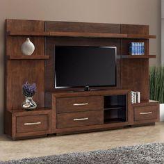 REZ Furniture Mandir Entertainment Center – Home Trends 2020 Tv Unit Decor, Tv Wall Decor, Tv Cabinet Design, Tv Wall Design, Entertainment Center, Tv Unit Furniture Design, Tv Furniture, Furniture Dolly, Furniture Removal