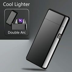 Newest Metal Windproof Electronic Lighters Charging Double Arc USB Charge Plasma Lighter Electric Pulse for Smke Pipe Cigarette-in Cigarette Accessories from Home & Garden on Aliexpress.com | Alibaba Group