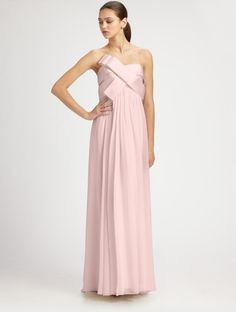 Notte by Marchesa Silk Gown  Loveeee it:)