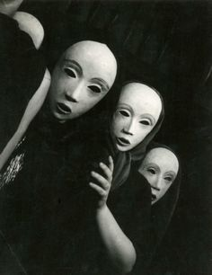 chagalov: Yvonne Knight, Masks, c.1935 from Millon-Drouot