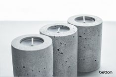 Our concrete candlesticks are great design accessories that will brighten your interior. Each piece is original and handmade. If you have any questions, please do not hesitate to contact me. Concrete Candle Holders, Decoration, Candlesticks, Tea Lights, This Or That Questions, The Originals, Interior, Handmade, Accessories
